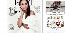 Sur sa page d'acceuil, Net-a-Porter se présente comme un magazine féminin.