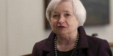 Janet Yellen, présidente de la banque centrale des Etats-Unis