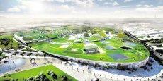 Une vie virtuelle d'Europa City, le projet à 2 milliards d'euros et 11.000 emplois d'Auchan à Gonesse (Val-d'Oise)