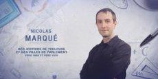 Nicolas Marqué a remporté la finale régionale de l'édition 2014
