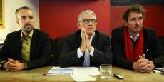 Ici réunis en 2014, Antoine Maurice, Pierre Cohen et Pierre Lacaze