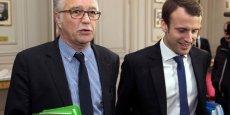 Les ministres du Travail et de l'Economie, François Rebsamen et Emmanuel Macron, préfèrent prendre leur temps avant d'annoncer d'éventuelles réformes du marché du travail