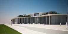 Le projet de la nouvelle faculté de médecine, dont la première pierre a été posée ce mercredi.