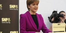 Nicola Sturgeon, leader du SNP écossais et première ministre d'Ecosse.