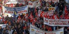 A Marseille, 7.000 personnes ont manifesté contre l'austérité, selon la police.