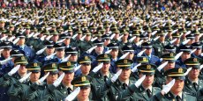 Les deux Corées sont toujours techniquement en état de guerre, depuis l'armistice qui a mis un terme aux combats de la guerre de 1950-53.