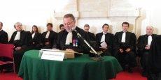 Franc-Gilbert Banquey a présidé sa dernière audience solennelle à la tête de la CRC d'Aquitaine et Poitou-Charentes