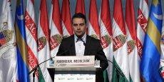 Gabor Vona, leader de Jobbik, l'extrême-droite hongroise, veut dédiaboliser son parti