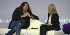 Jacques-Antoine Granjon, PDG et fondateur de vente-privee.com, a ouvert la soirée à 17h30 ce soir, en répondant aux questions de la journaliste Delphine Cuny