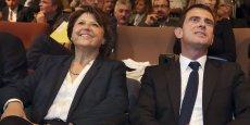 Martine Aubry et Manuel Valls se retrouvent finnalement sur une motion commune en vue du congrès du Parti socialiste.