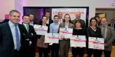 Les gagnants 2014 du concours CreAcc.