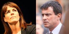 Manuel Valls et Laurence Arribagé ne sont pas d'accord au sujet de la hausse des impôts à Toulouse