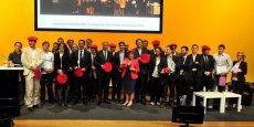 Cérémonie des Trophées de l'économie numérique en 2014