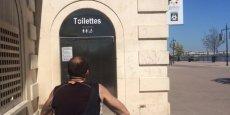 Pour l'instant, l'application Le Trèfle - Où sont les toilettes ? ne règle pas le problème des files d'attente...