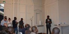 Sename Koffi présente WoeLab, le premier fab lab du Togo qui a vu naître dans ses locaux la 1re imprimante 3D fabriquée en Afrique
