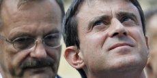 Le Premier ministre Manuel Valls et Jean-François Carenco, préfet de la région Île-de-France, sont très actifs dans la mise en oeuvre du Grand Paris