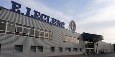 Un hyper Leclerc (à Brive La Gaillarde): les commerces se déplacent plus que jamais vers la périphérie