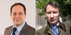 Emmanuel Maurel, député européen PS, et Daniel Vasseur, économiste.