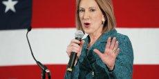 Carly Fiorina, ex-PDG de Hewlett-Packard est la seule femme candidate aux primaires républicaines