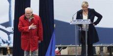 Pour Marine Le Pen, la montée de son père sur l'estrade place de l'opéra était une nouvelle provocation.