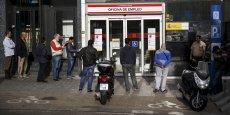 En Espagne, le chômage touche encore 23,7% de la population active.