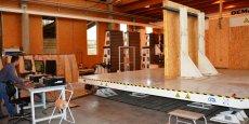 La table sismique développée en interne à Bordeaux, permet à FCBA de proposer des tests de résistances capitaux... à moindre frais pour les PME et PMI de la filière bois construction