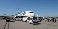 En 2014, Ryanair a décompté 115 000 passagers sur ses 3 lignes montpelliéraines.