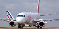 La navette Hop Air France a 25 navettes au départ de Toulouse chaque jour