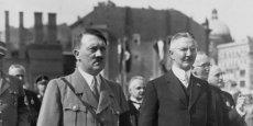 Hitler et Schacht
