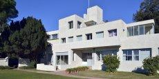 La Villa Noailles, sur les hauteurs de Hyères, dans le Var (Côte d'Azur).