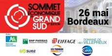 Le Sommet économique du Grand Sud aura lieu le 26 mai au Palais de la Bourse à Bordeaux