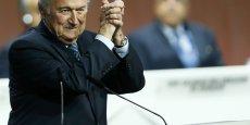Joseph Blatter, 79 ans, entame un cinquième mandat à la tête de la Fifa dans une ambiance pour le moins mouvementée.