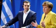 Angela Merkel s'empare du dossier grec