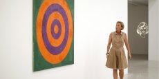 Exposé au Moma, Jasper Johns est l'un des artistes les mieux côté sur le marché de l'art.