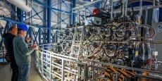 Muse, ce spectrographe dernier cri, pèse 7 tonnes et observe les galaxies les plus lointaines