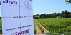 Le lancement de l'ISO 26000 (responsabilité sociale des entreprises) s'est tenu mardi 2 juin au Domaine de Verchant.
