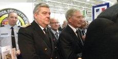 Le préfet Pierre Dartout lors du Salon des élus locaux et agents publics d'Aquitaine