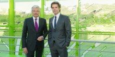 Didier Reynders et Michael Peters.