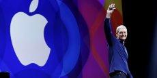 L'action Apple s'adjuge 2,44% à 117 dollars dans les transactions électroniques à Wall Street.