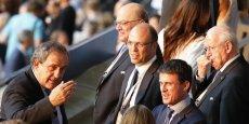 La semaine dernière, [le] cabinet [de Manuel Valls] m'a dit qu'il souhaitait me rencontrer en tête-à-tête avant le match, pour parler de l'Euro et de la situation du football international après la crise de la Fifa, a précisé le président de l'UEFA.