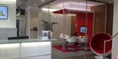 L'agence de la Banque du Léman à Genève.