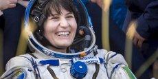 Samatha Cristoforetti était partie au bord de la navette Soyuz le 23 novembre 2014, avec l'Américain Terry Virts et le russe Anton Shkaplerov, pour rejoindre la Station spatiale internationale.