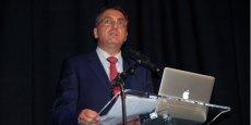 Bertrand Girard, directeur général de Vinadeis, lors des annonces du 11 juin