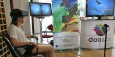 La société a mis au point une application de réalité virtuelle pour le compte de l'entreprise de surveillance des mers Mercator Océan.