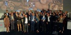 Les lauréats des premiers Trophées des initiatives coopératives, à Paris