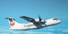 ATR a réussi à remporter sa première commande auprès d'une compagnie japonaise, Japan Air Commuter (groupe JAL)