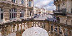 Vue sur la Comédie, depuis le Grand Hôtel du Midi