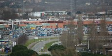 Zone commerciale de Carrefour à Labège