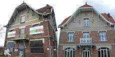 Refaite à neuf, la maison bourgeoise aux briques rouges a gardé le cachet des anciennes demeures attribuées aux ingénieurs des cités minières du nord de la France.