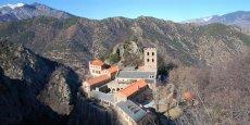 L'abbaye Saint-Martin du Canigou, située sur le territoire de Canigo Grand Site, sera intégrée dans le projet de développement économique porté par le syndicat mixte.